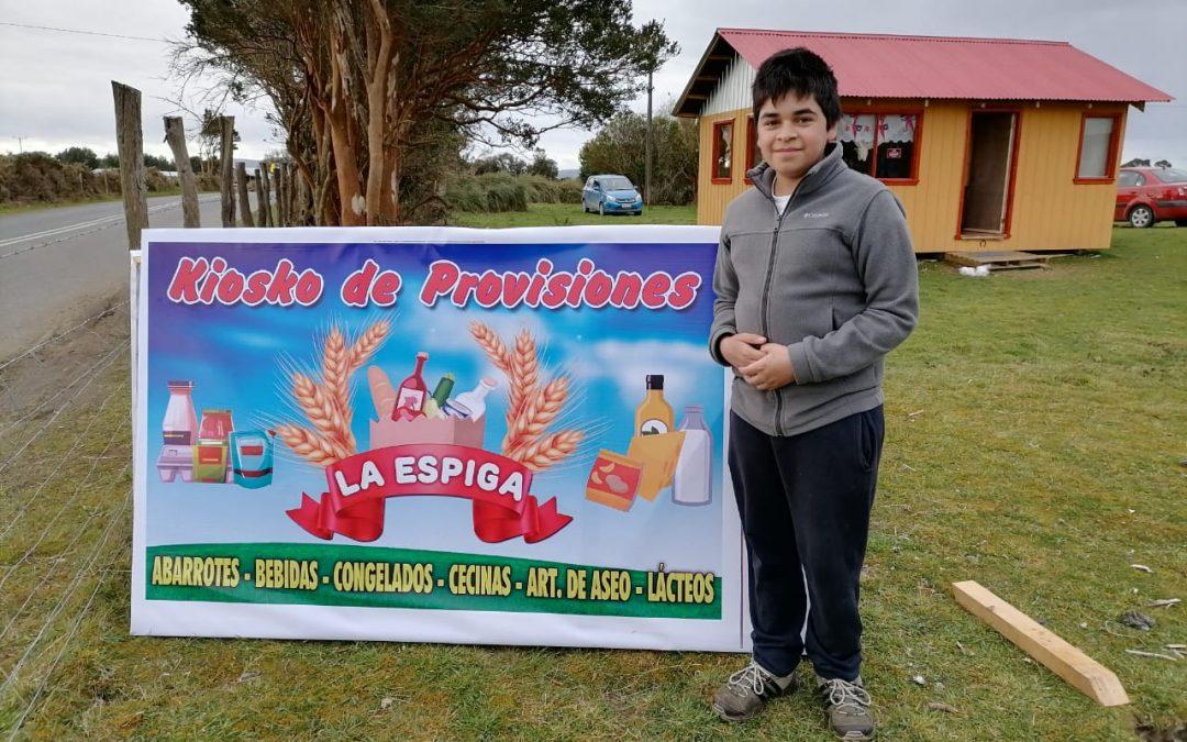 El pequeño empresario Felipe Maldonado.