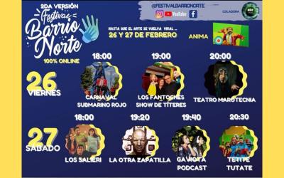 2ª Versión «Festival Barrio Norte»